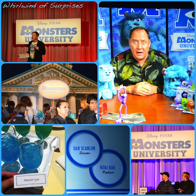 Monsters U Orientation with Dan Scanlon & Kori Rae, #MonstersUToyFair, John Lasseter