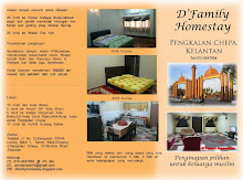 Brochure D'Family Homestay