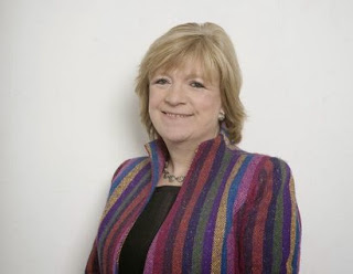 Polly Toynbee in pyjamas
