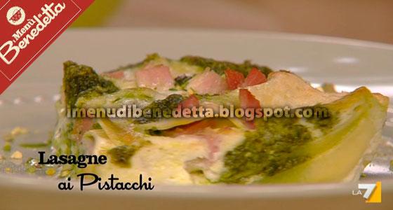 Lasagne ai Pistacchi di Benedetta Parodi