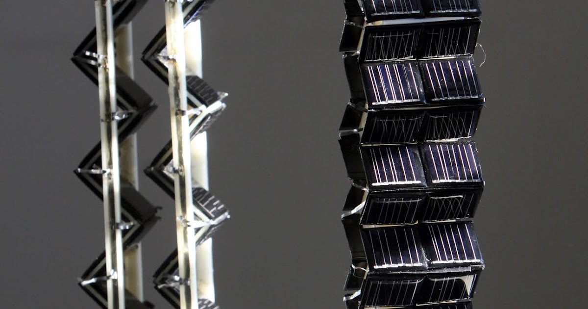 Mit News Building Cubes And Towers In 3d To Extend Solar