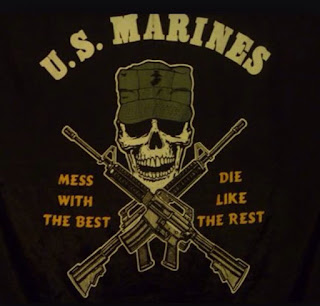 US marines mess with the Best Die Like the Rest