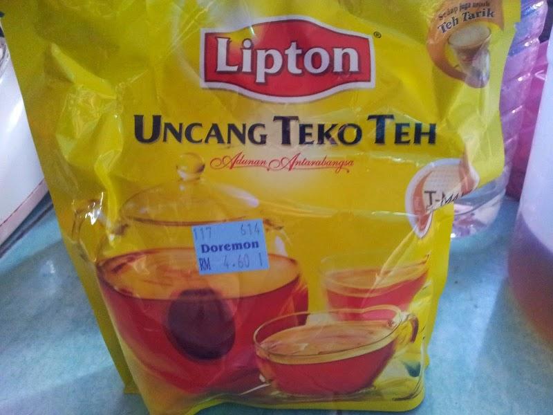Mengandung Dan Uncang Teko Teh Lipton!