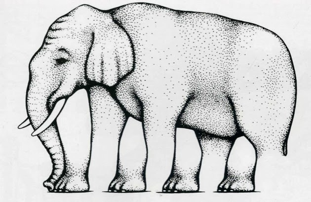 Рисунок Роджера Шепарда.