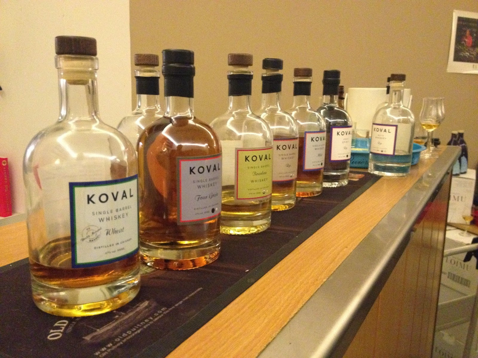 Malt Mariners: Tasting der Koval Distillery Chicago