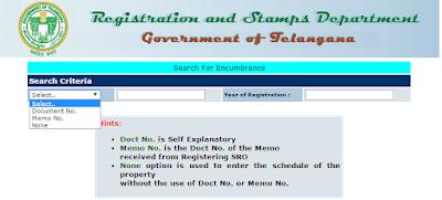 Step2: Download Encumbrance(EC) in online image
