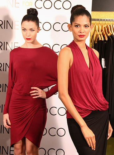 Models Wearing Perine for Coco AW2014 Ready to Wear Collection