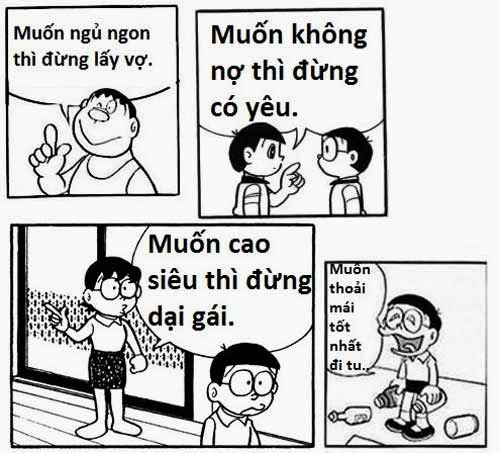 Thơ chế vui, bá đạo của Nobita - hình 1