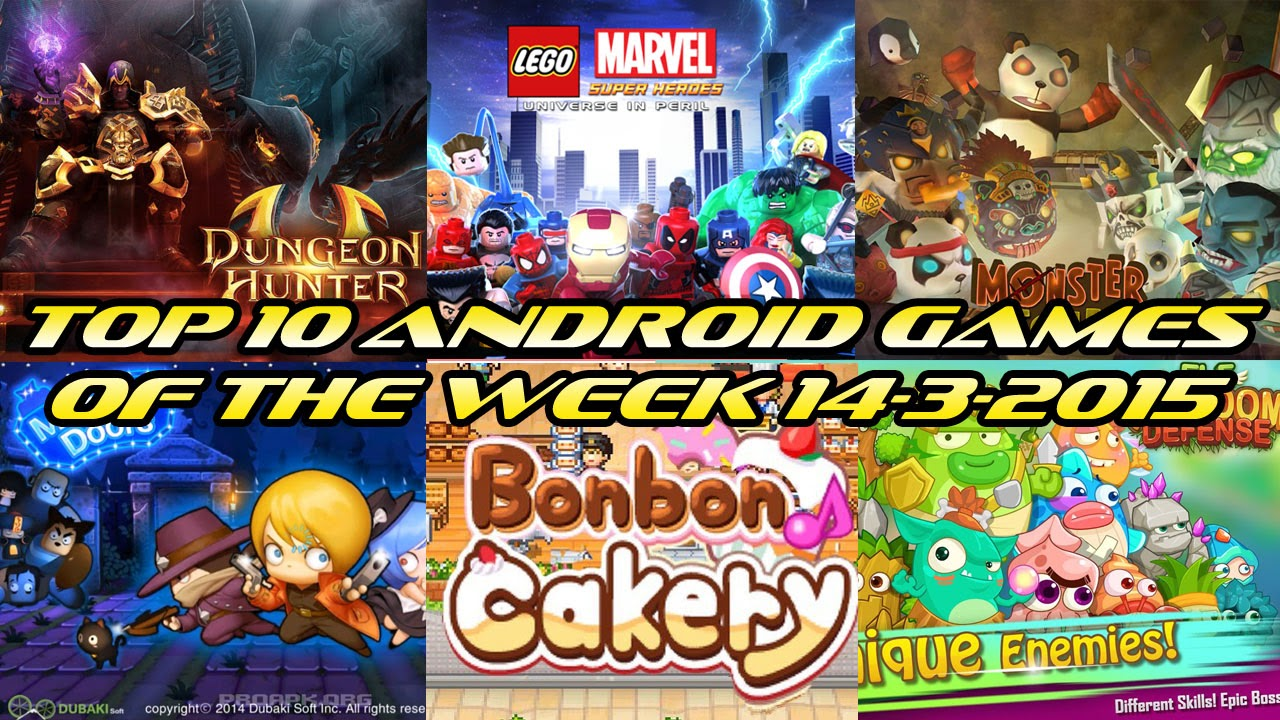 TOP 10 BEST NEW ANDROID GAMES OF THE WEEK - 14th March 2015