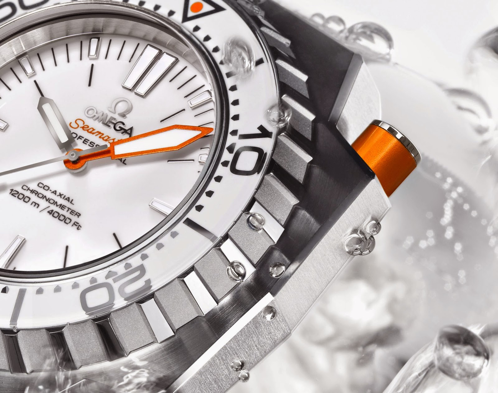 Hands-on With My White Omega Seamaster Ploprof 1200M ...