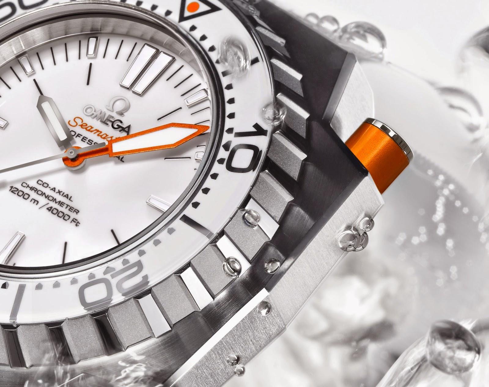 Omega Seamaster Ploprof 1200M White copy watch