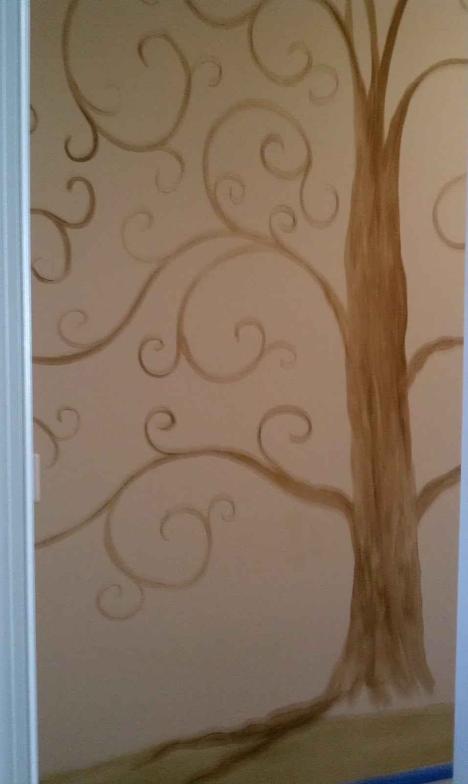 savard studios whimsical tree of life wall mural. Black Bedroom Furniture Sets. Home Design Ideas