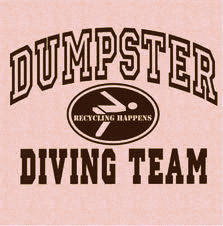 dumpster diving team