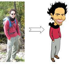 Cartoon Yourself  For Java Support Phone