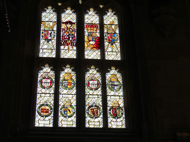 Christ church college dining hall windows