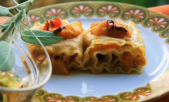 Lasagnette rolls ups