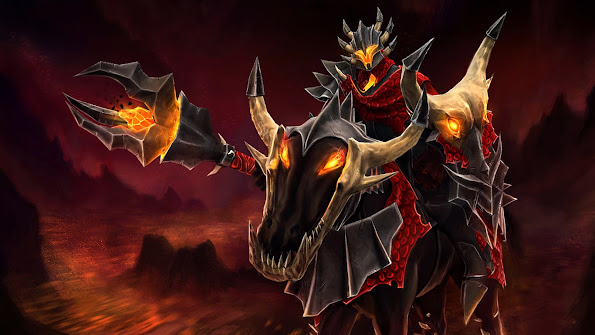 chaos knight nessaj dota 2 hd wallpaper 1366x768