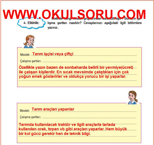 5.Sınıf FCM Yayınları Türkçe Çalışma Kitabı 144.Sayfa Cevapları