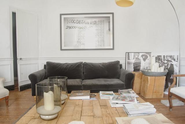 Oro y menta decorar sal n con sofa gris Sofas grises decoracion