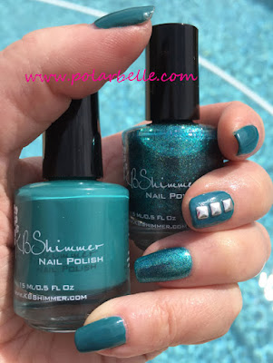 Halloween, swatches, talk Qwerty to Me, Teal It To My Heart
