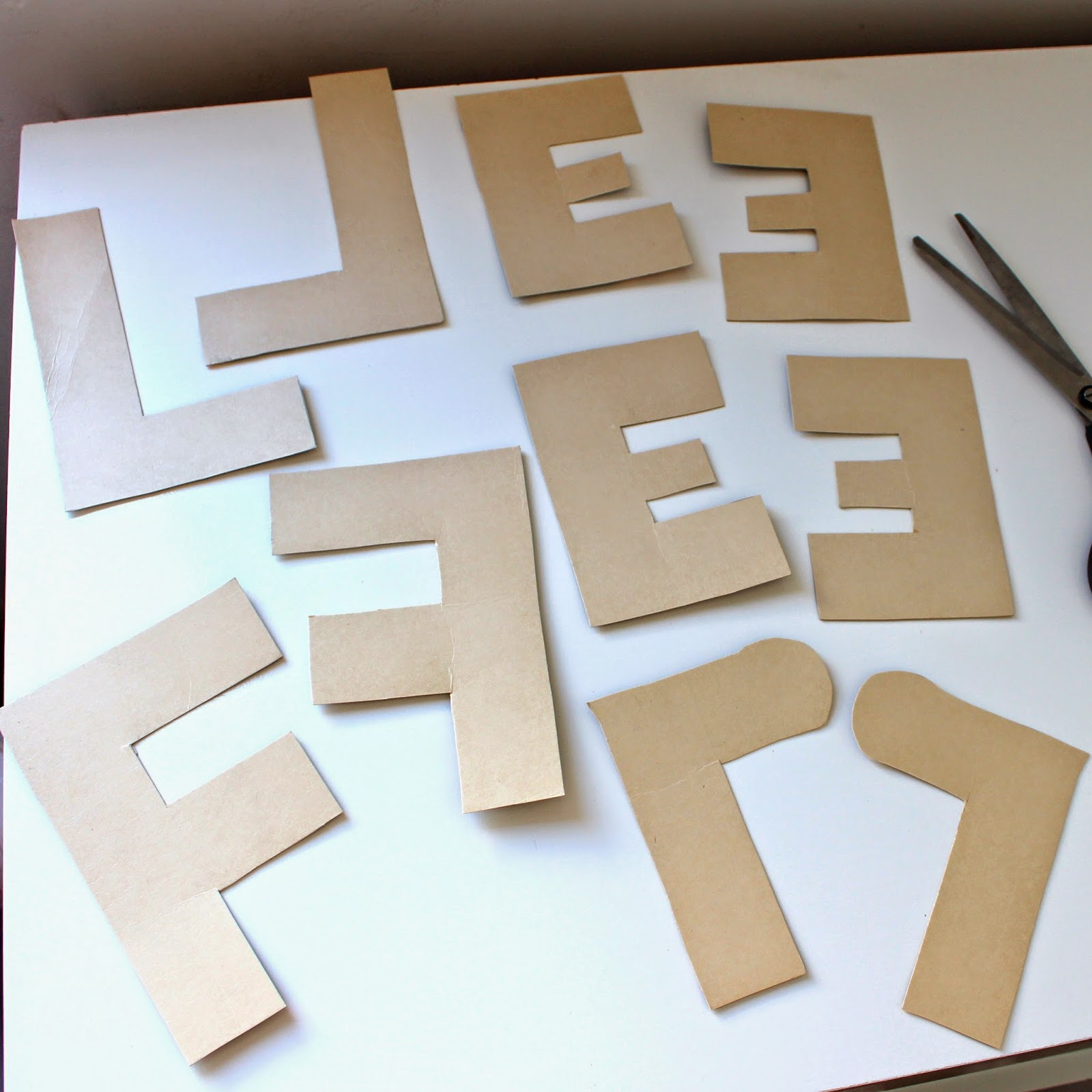 Tutorial Letras decorativas