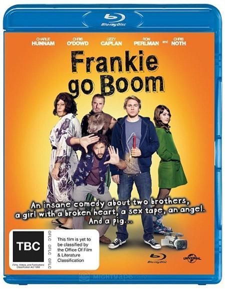 Filme Poster Frankie Go Boom BDRip XviD & RMVB Legendado