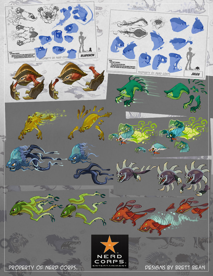 got to be a lead Designer on Slugterra which airs on Disney XD. Go