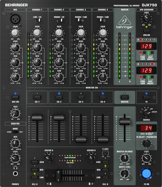 Jam Malam : Pengetahuan Tentang MixAudio Mixer Dalam dunia