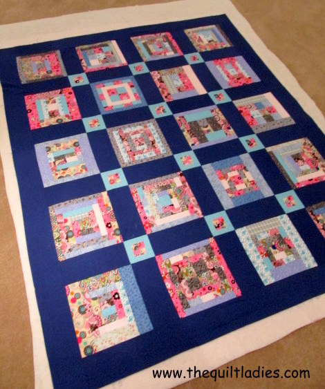 The Quilt Ladies Book Collection: Log Cabin Pattern, Put together : how to put together a quilt - Adamdwight.com