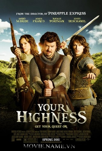 thua hoang tu 2011, Your Highness 2011 UNRATED BluRay 720p - Vietsub [MF]