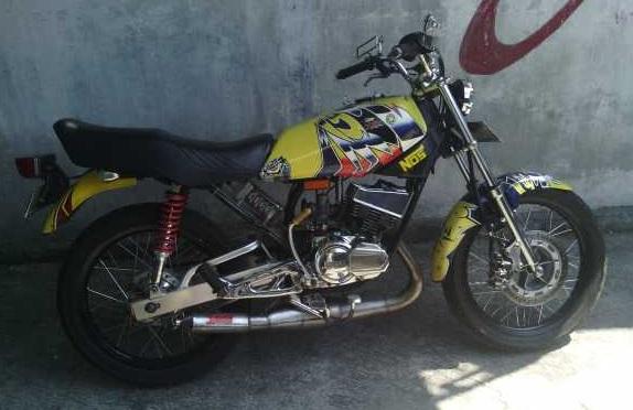Modif Motor Rx King Warna Hijau
