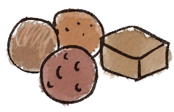 チョコレート・トリュフのイラスト