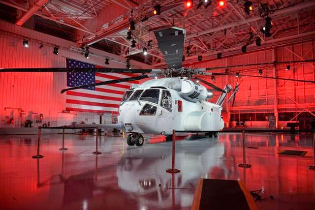 Military News - King Stallion: Newest Marine helo gets a royal rollout