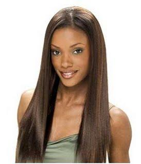 Straight Weave Hairstyles