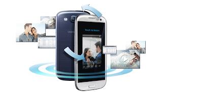 01 samsung galaxy s3 sbeam New functions of the Samsung Galaxy S3