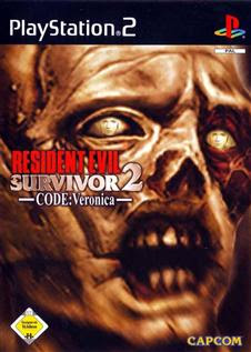 Resident Evil: Gun Survivor 2 CODE: Veronica   PS2