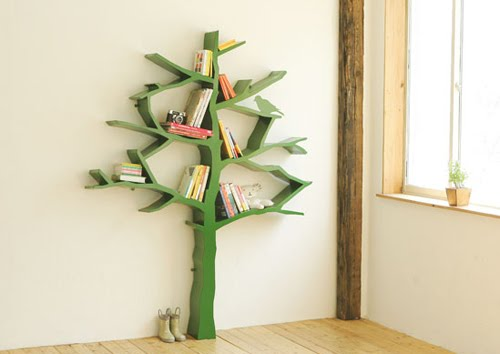 ABC and 123: DIY Bookshelf Patterns and Ideas