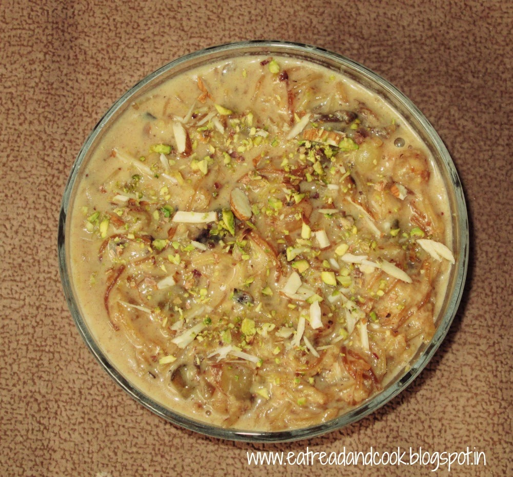 sheer khurma recipe with condensed milk