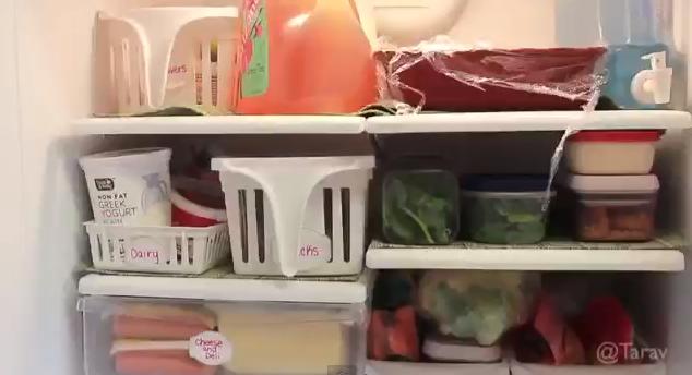 جودى الاروبة: طريقة تنظيم الثلاجه بشكل ممتاز فيديو