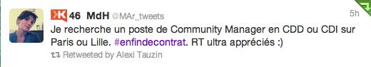 Nouveau RT Twitter