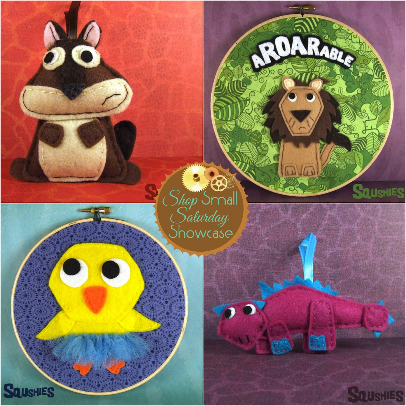 Squshies feature & GIVEAWAY! on Shop Small Saturday at Diane's Vintage Zest! #toy #unique #gift