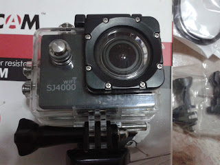 SJ4000 Wifi In Waterproof Case