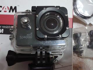 SJ4000 Wifi In Waterproof Case