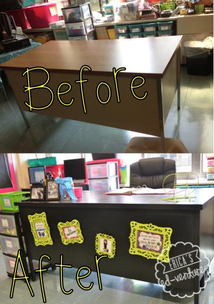 Classroom Paint Decor ~ Wonderful teacher desk decor yvotube