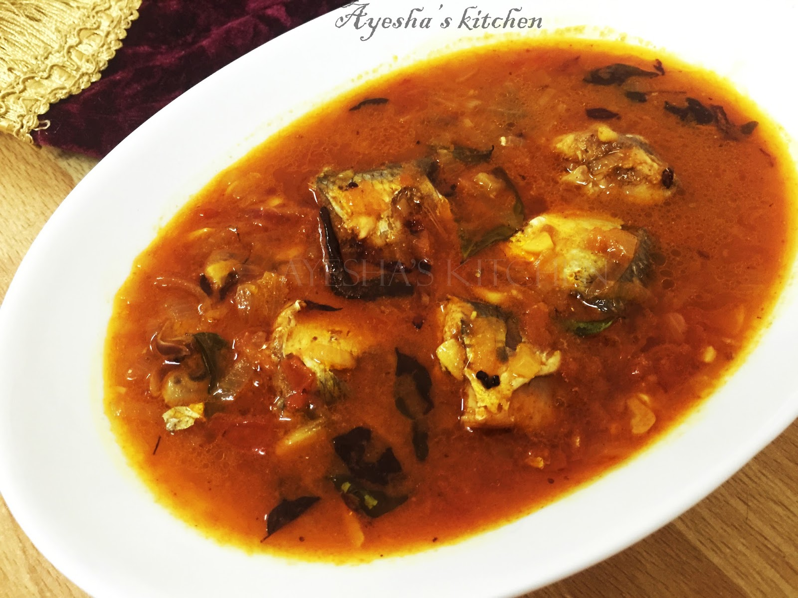 how to make mathi fish curry