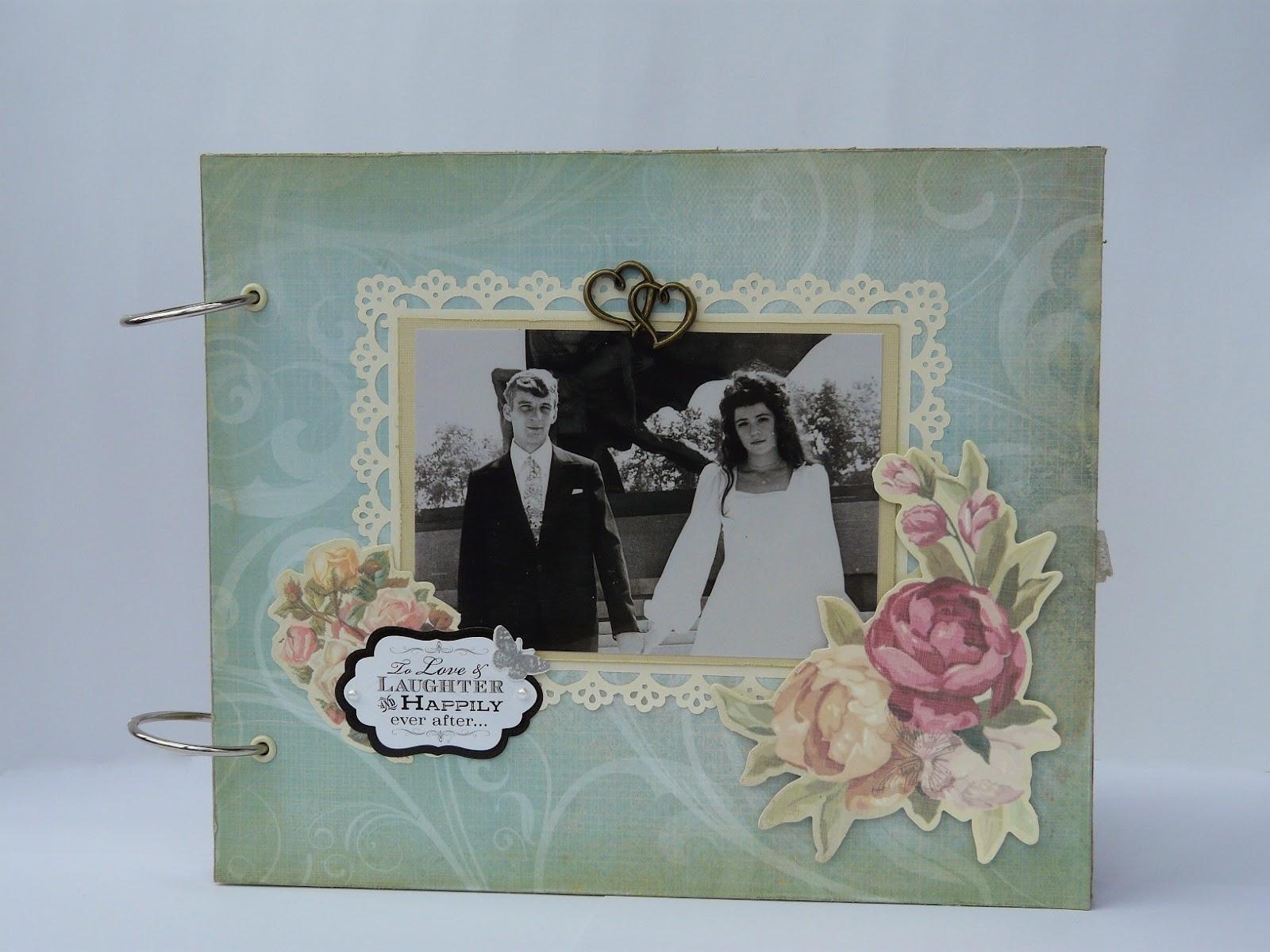 Альбом на юбилей свадьбы своими руками