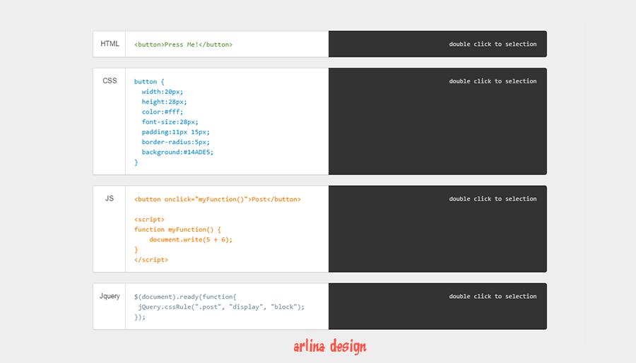 Simple Pre Code dengan Seleksi