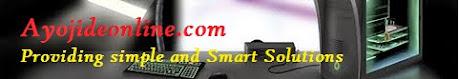 Ayojideonline.com Providing Simple and Smart Solutions