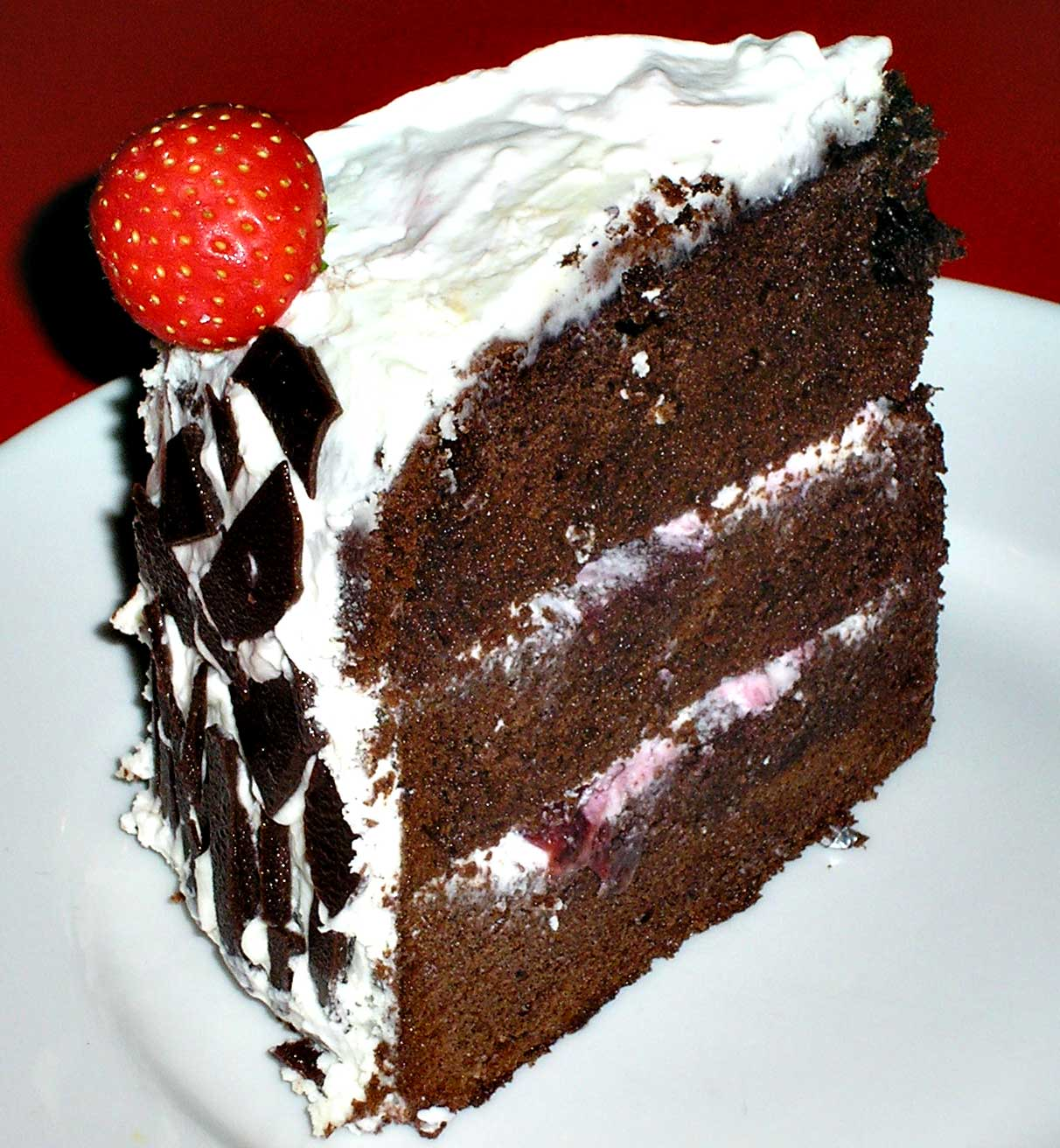 tips membuat kue black forest facebook twitter my first black
