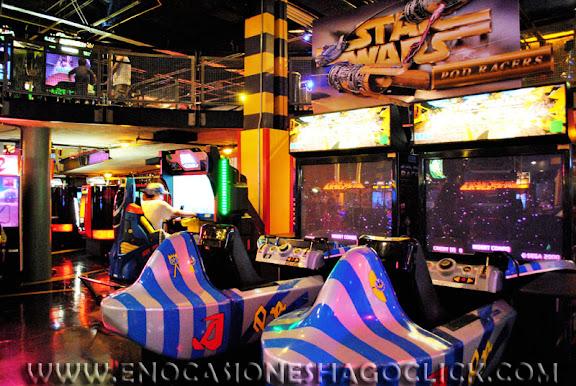 GAMEWORKS videojuegos Las Vegas games